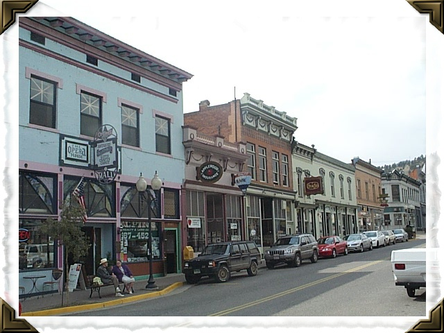 Main Street, Idaho Springs, Colorado